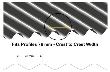 500T Seam Profiles