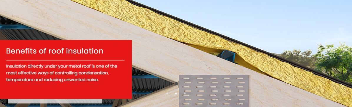 CSR Bradford Anticon Roof Insulation