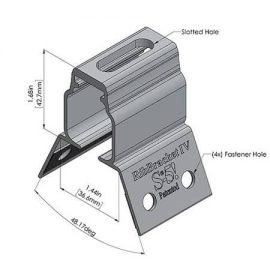 RibBracket 4 Dimensions