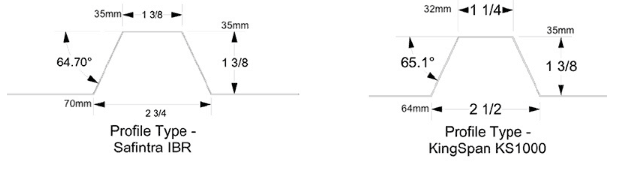RibBracket 4 Seam Profiles