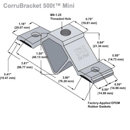 CorruBracket 500T Mini