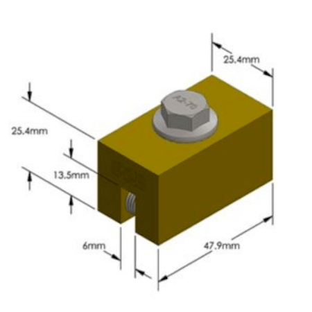 S-5-B Dimensions