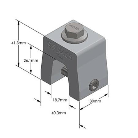 S-5-R465 Mini Dimensions
