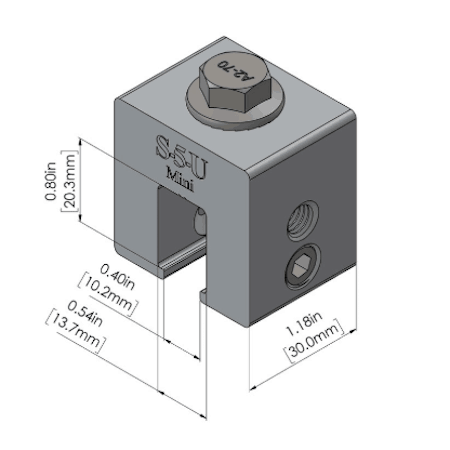 S-5-U Mini Dimensions