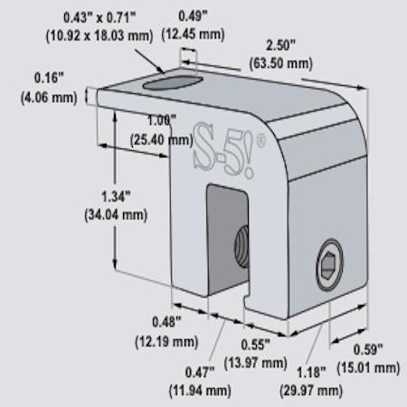 S-5-USF Mini Dimensions