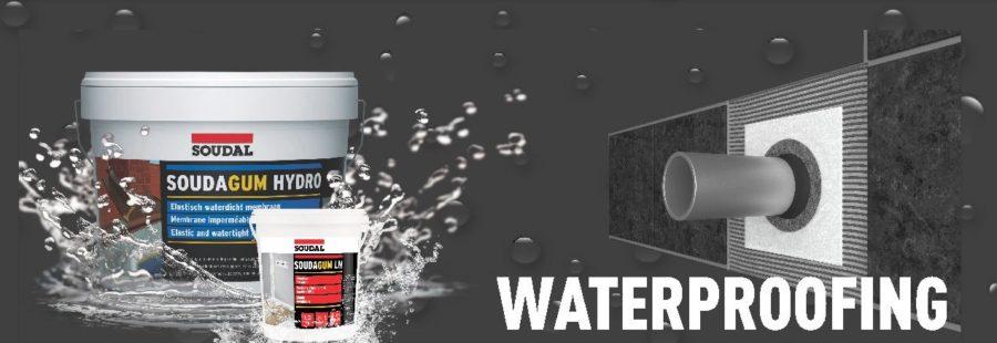 SOUDAL Waterproofing range of products