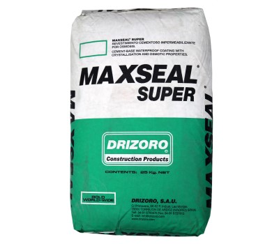 DRIZORO Maxseal Super is a cement-based waterproof coating