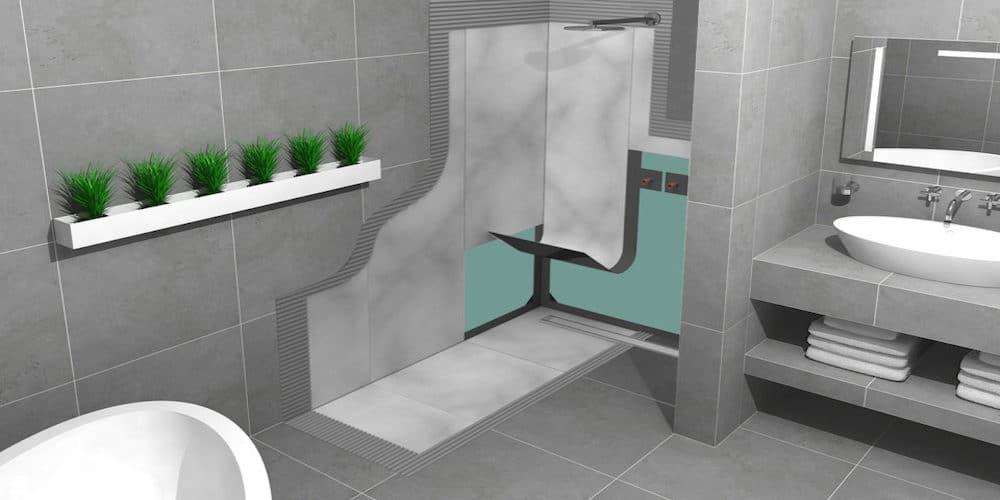Floor & Wall Tiles Waterproofing Membrane