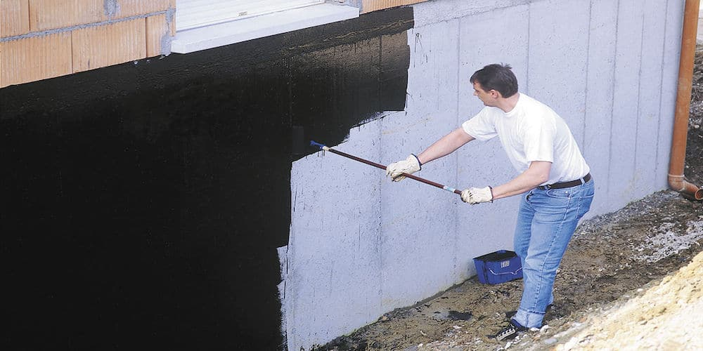 Waterproofing Membrane for Walls
