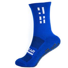 Blue Crew Sock