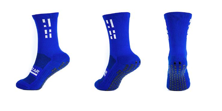 Gripstar Blue Crew Socks