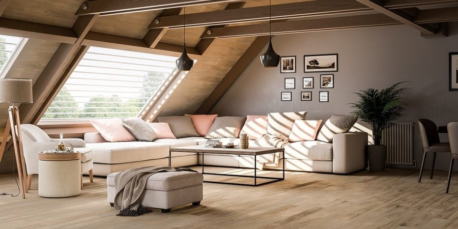 Living areas can be an escape space for the parents or the children