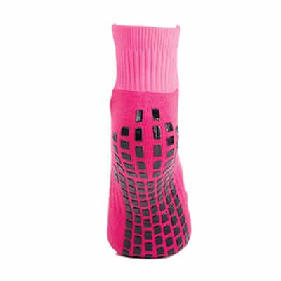 Pink Grip Star - Ankle Sock