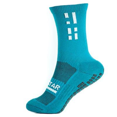Sky Blue Crew Sock