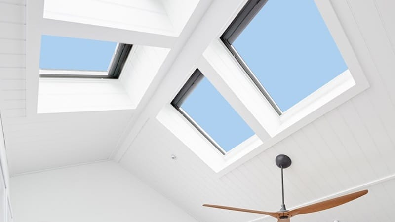 Solar Skylight Pitched Roof
