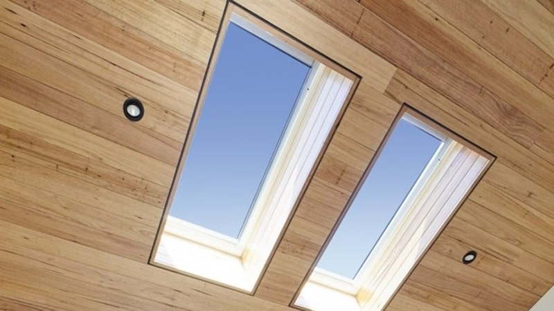 Solar Skylights Pitched Roof