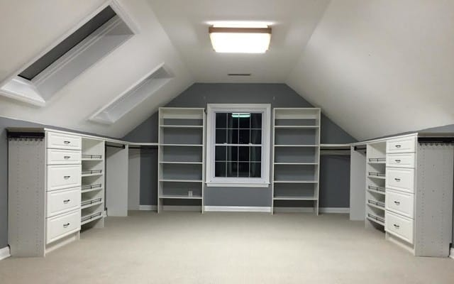 Space in the roof you can potentially add up to 30% of your floor space