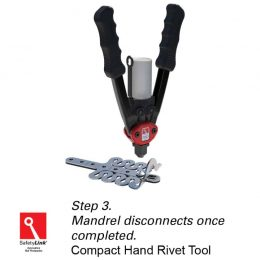 SafetyLink Compact Hand Rivet Tool