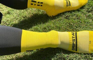 The new grip star socks - seriously grippy, non-slip socks