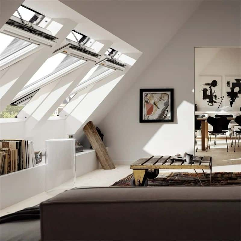 Transform any attic conversion with natural light