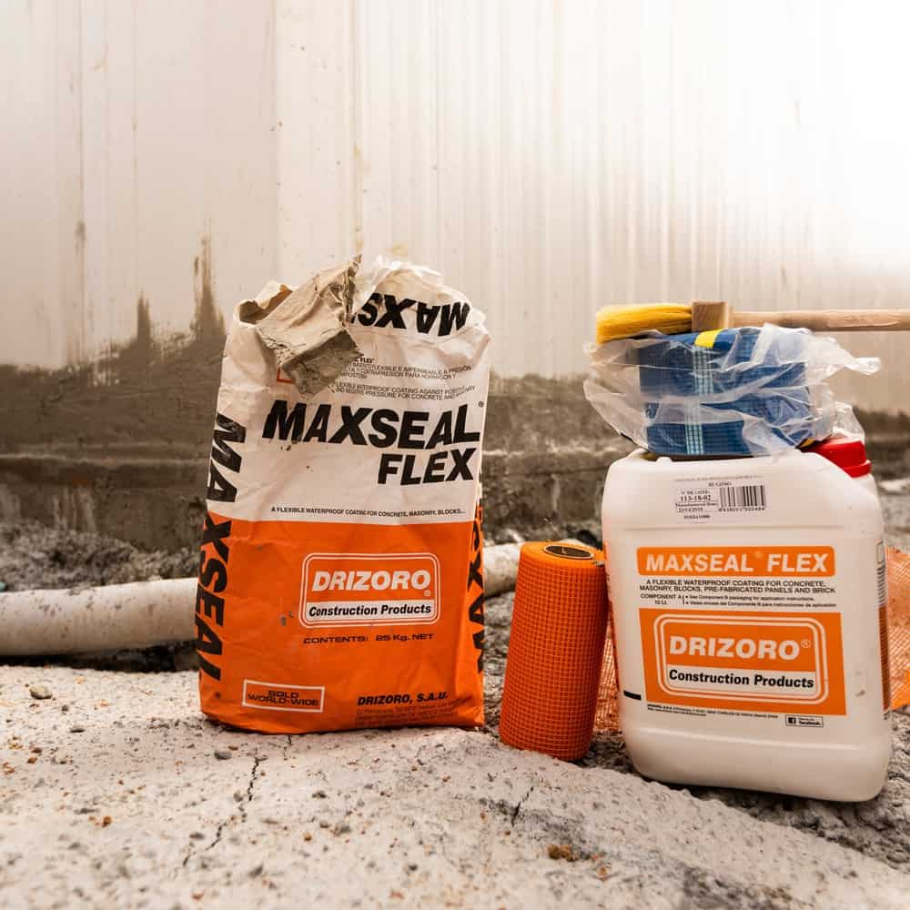 Drizoro maxseal flex waterproofing products