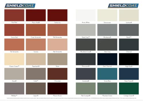 Roofbond Membrane Colours