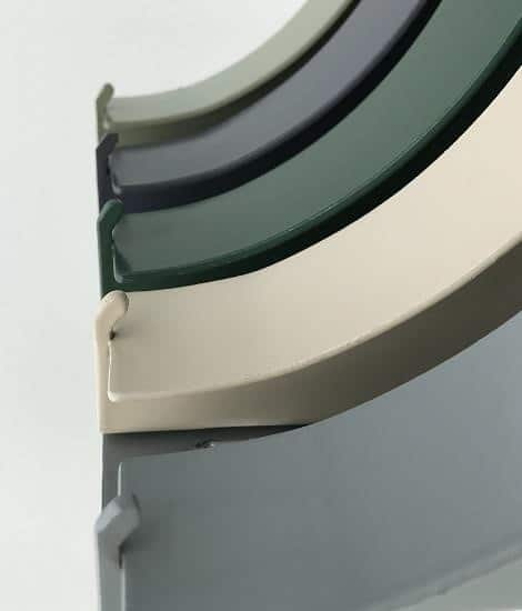 Available in ZINCALUME® and COLORBOND® and stainless steel material