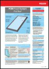 FCM Flat Roof Skylight Product Data Sheet