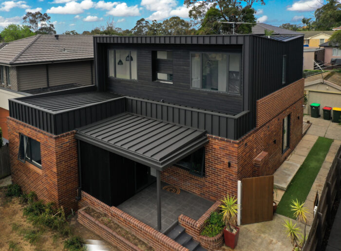 Gladesville Snap-Line45® Roof