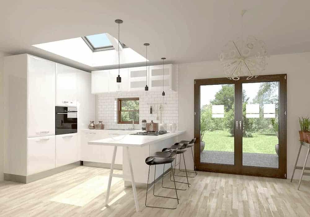 Kitchen After Velux Skylight 2