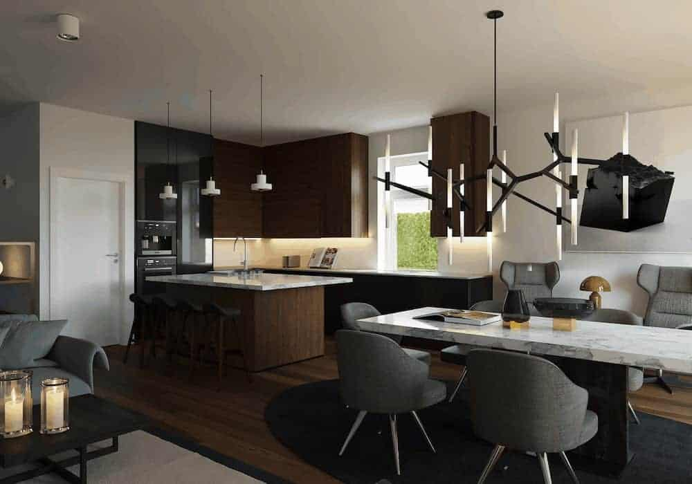 Kitchen Before Velux Skylight 1