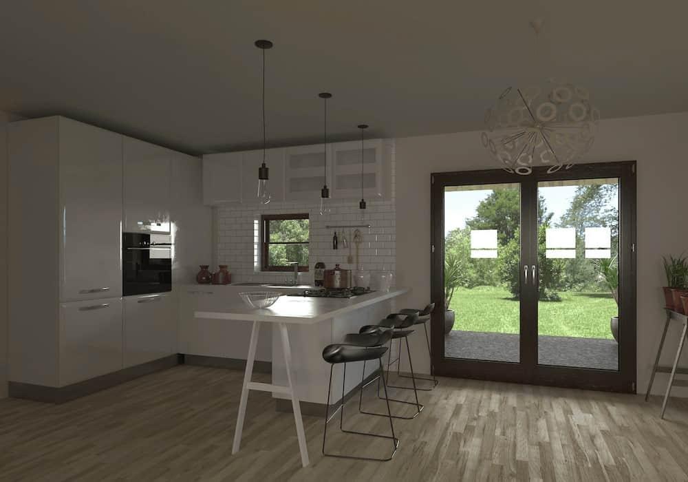 Kitchen Before Velux Skylight 2