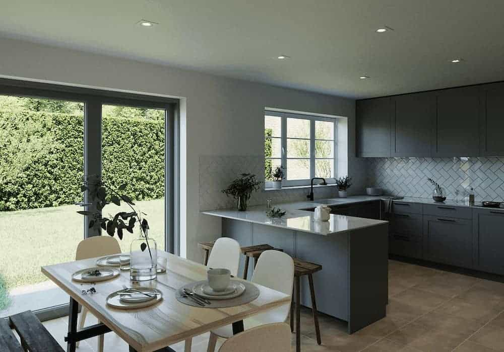 Lack Of Light In The Kitchen Before Skylight