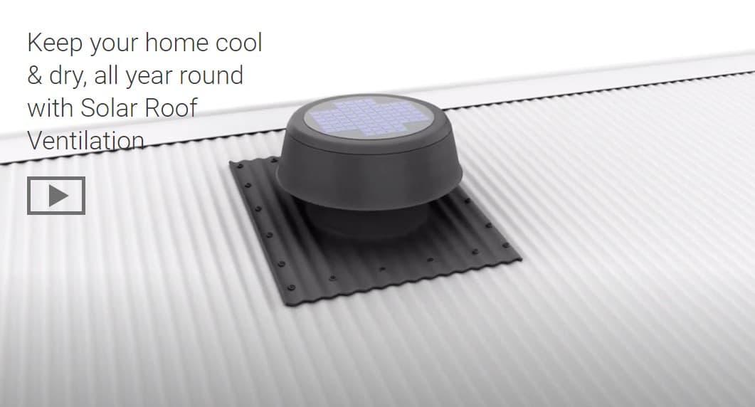 SolarXvent Roof Ventilator Video on how it works