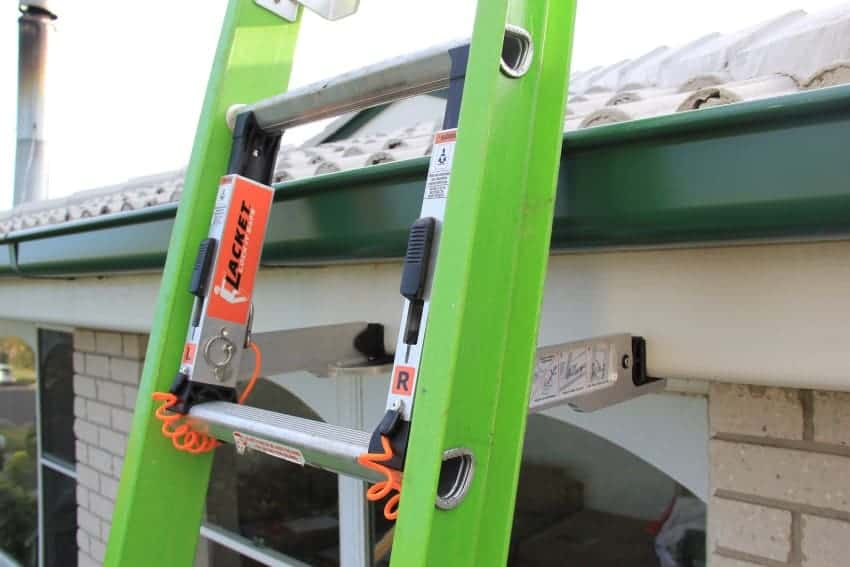 Lacket Safety Ladder Brackets