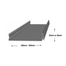 Eclipse™ Snaplock Dimensions