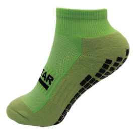 Grip Star Ankle Sock Pastel Green