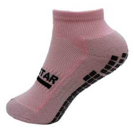 Gripstar Ankle Pastel Pink