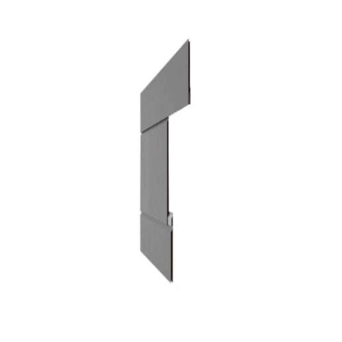 Savanna™ Flat Lock Panels - Side View